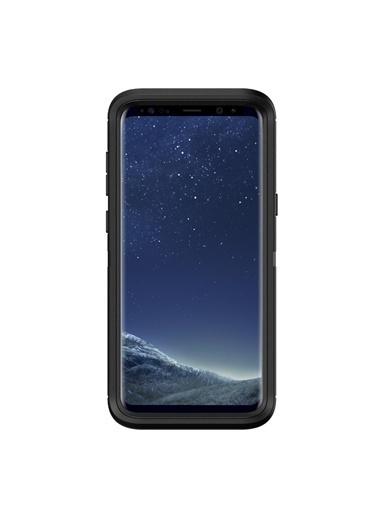 Darbeye Dayanıklı Defender Galaxy S8 Plus Kılıf Black-OtterBox